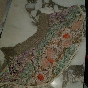 Ondademar silk swim cover skirt